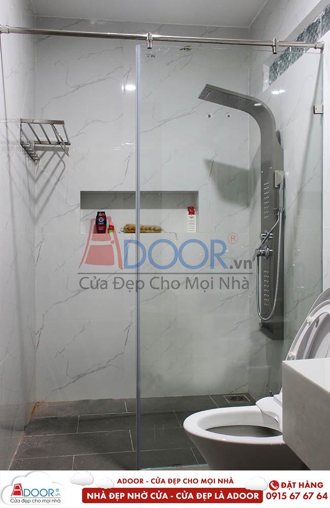 phòng tắm kính cường lực adoor