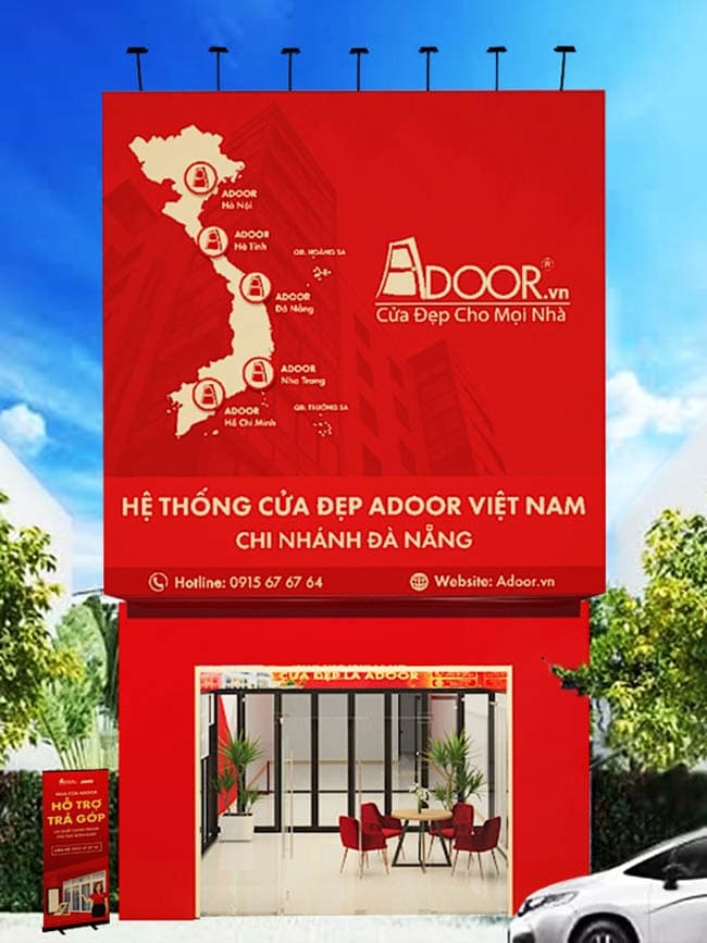 hành trình mở rộng chi nhánh Adoor