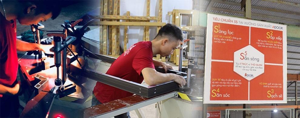 Adoor – dịch vụ gia công cửa nhôm Xingfa giá rẻ, uy tín