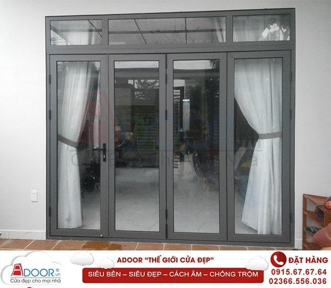 Chuộng cửa nhôm kính đẹp cho không gian ngôi nhà