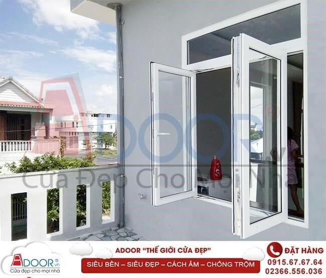 Mẫu cửa sổ làm trang trí nội thất trong không gian nhà ở