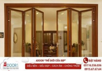 Cửa nhựa Adoor tạo phong cách riêng cho không gian nhà bạn