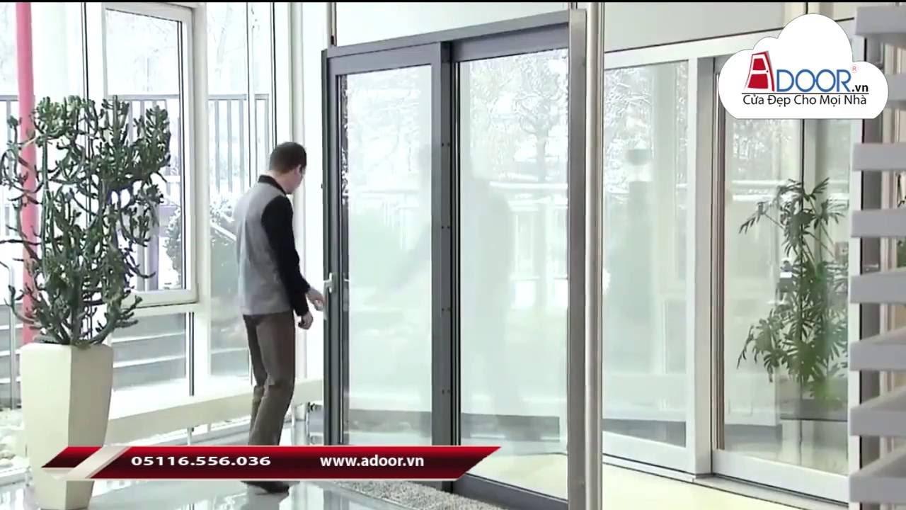 Mẫu cửa nhôm Xingfa mở lùa