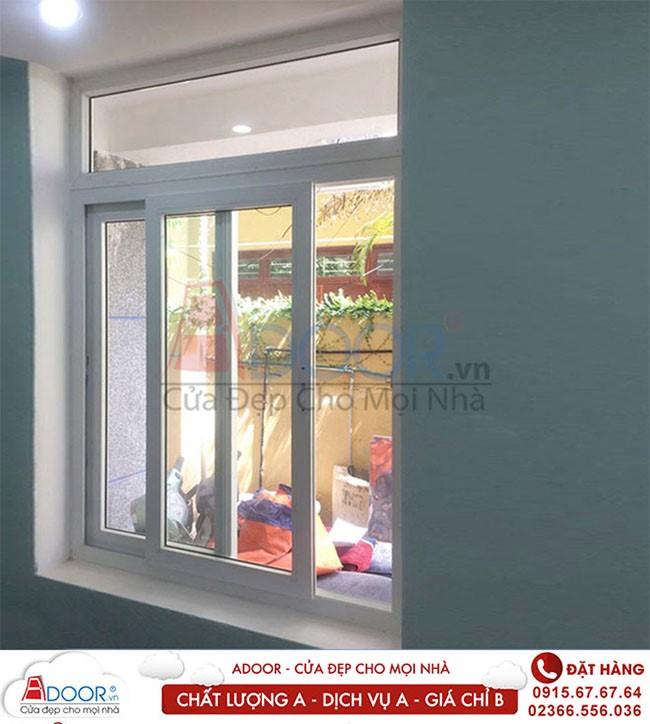 Mẫu cửa sổ lùa 2 cánh tạo sắc nét cho không gian nhà bạn