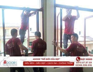 Thi công cửa nhôm Xingfa Đắk Nông, Adoor