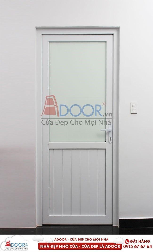 Mẫu cửa nhựa nhà vệ sinh giá rẻ tại Adoor
