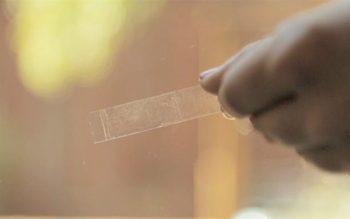 làm sạch vết băng dính trên cửa kính