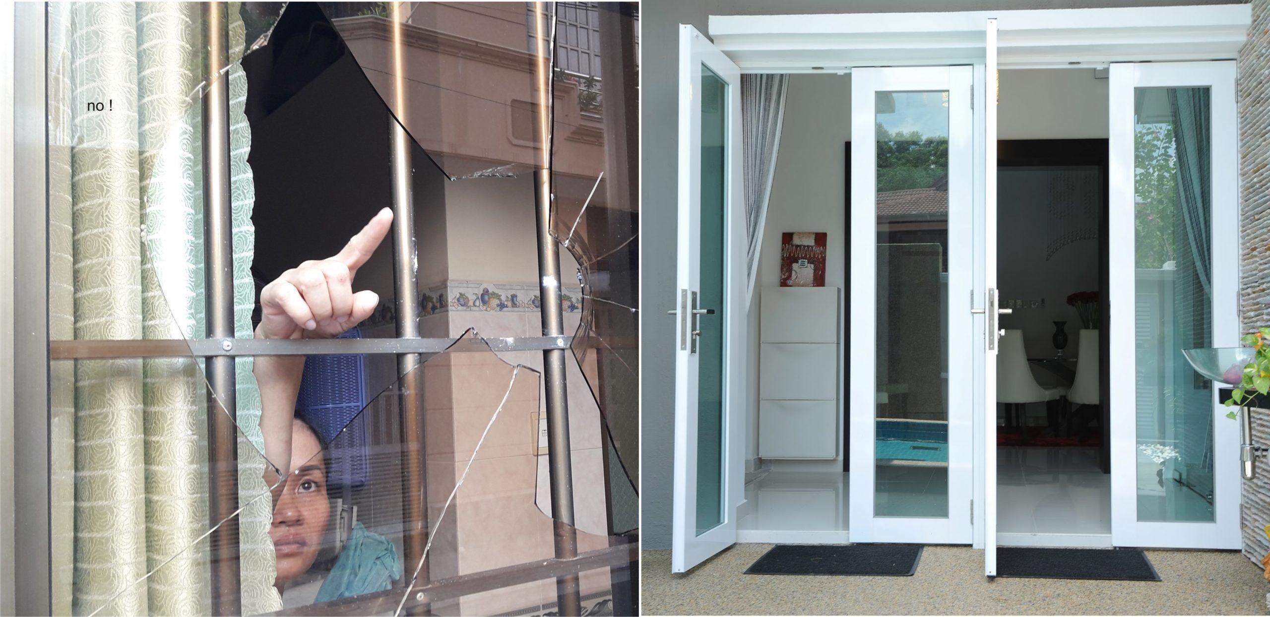 địa chỉ làm cửa nhôm kính ở Hà Nội