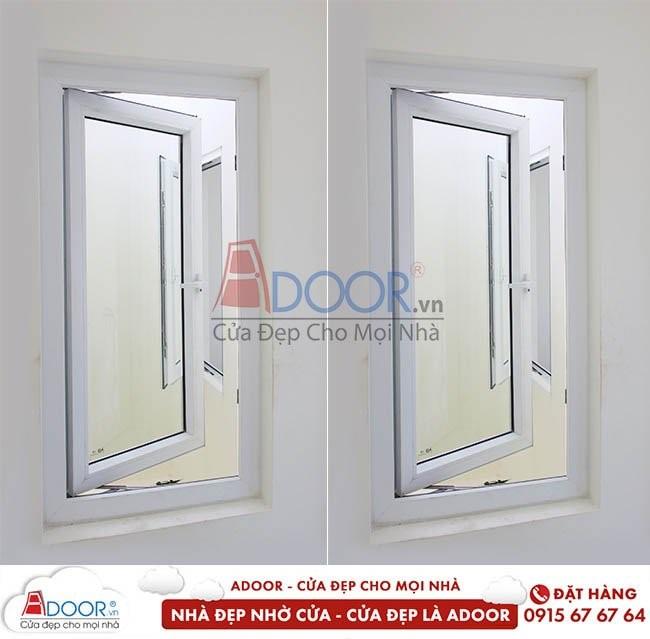 Mẫu cửa sổ lõi thép mở quay cho không gian nhà bạn