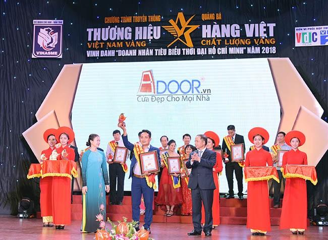 Adoor thương hiệu Việt Nam Vàng 2018
