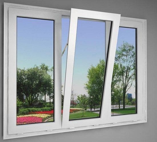 Cửa sổ nhựa lõi thép mở lật với thiết kế tinh tế cho bạn