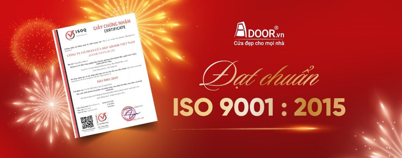 Adoor đạt chuẩn ISO 9001:2015