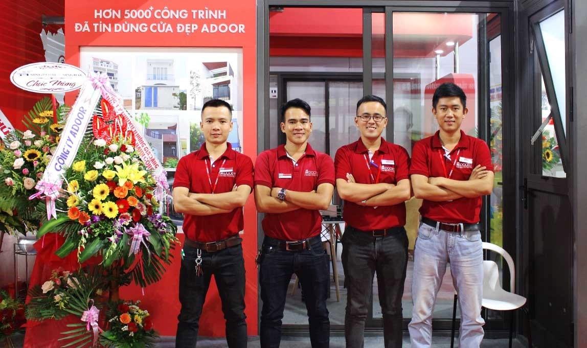 Thi công cửa chất lượng tại Adoor