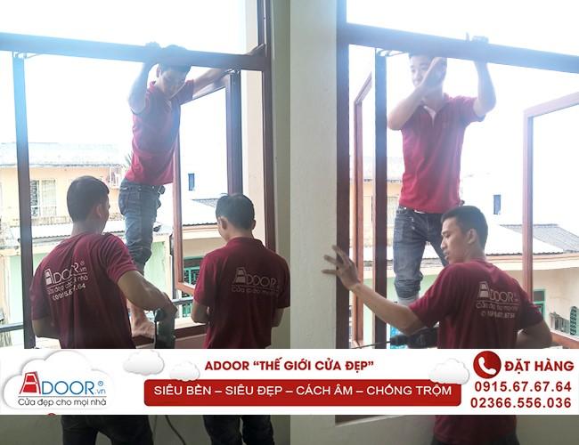 Đội ngũ Adoor luôn chuyên nghiệp, cẩn thận trong từng chi tiết