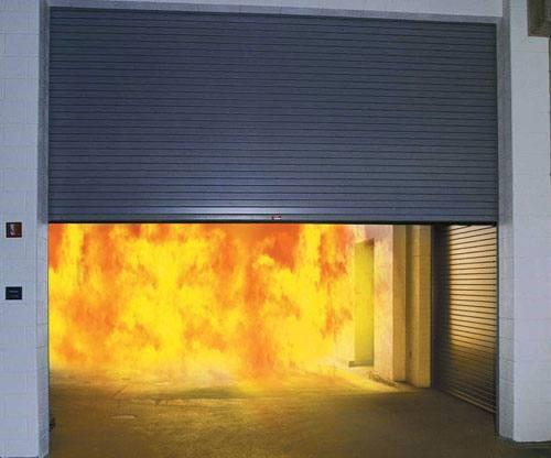 Cửa cuốn chống cháy an toàn cho bạn