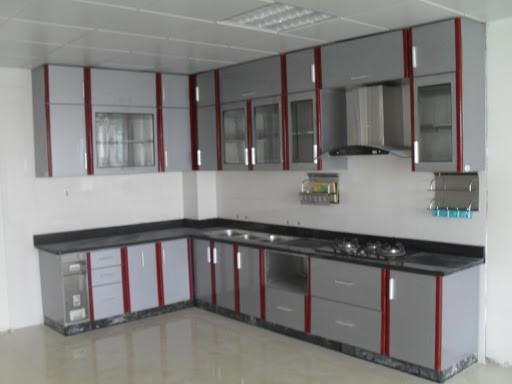 Cửa nhôm cho tủ bếp