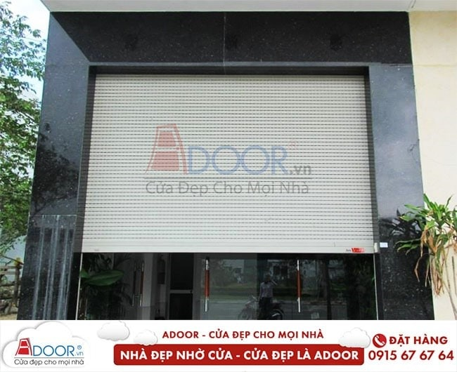 Cửa cuốn Adoor đẹp mắt và hiện đại